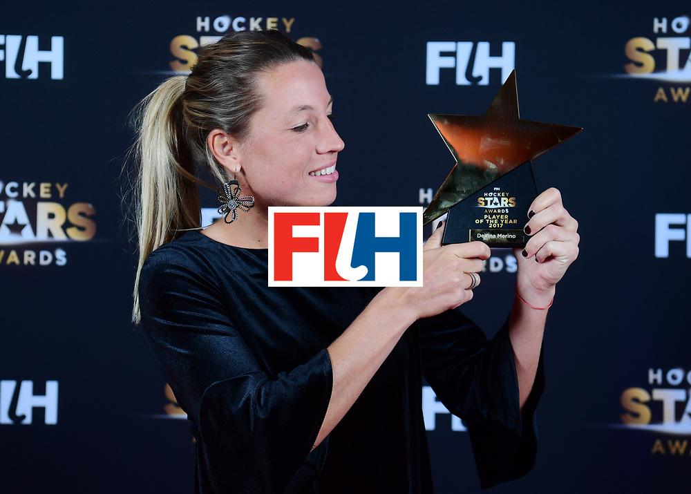 BERLIJN - FIH Hockey Stars Awards<br /> Foto: Female Player of the Year<br /> Delfina Merino<br /> WORLDSPORTPICS COPYRIGHT FRANK UIJLENBROEK