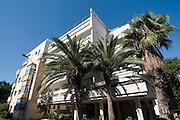 Israel, Tel Aviv, Bauhaus Architecture in Sheinkin Street No 65