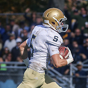 Salesianum Wide Receiver Jeremy Ryan (5) take it to the house after catching pass for a touchdown Saturday, Oct. 17, 2015 at Concord Stadium in Wilmington.