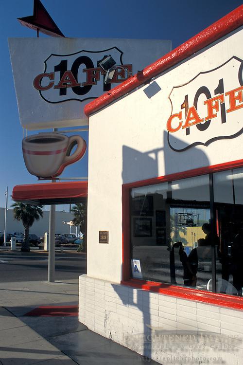 101 Cafe, est. 1928+Oceanside, San Diego County, CALIFORNIA