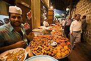 Bur Dubai Souq. Samosas and other Indian style fries.