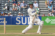 Harry Swindells batting during the Specsavers County Champ Div 2 match between Gloucestershire County Cricket Club and Leicestershire County Cricket Club at the Cheltenham College Ground, Cheltenham, United Kingdom on 15 July 2019.