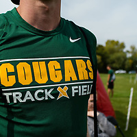 Team Nike gear during the annual Cougar Trot on September 17 at Douglas Park. Credit: Arthur Ward/Arthur Images
