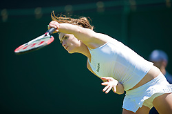 LONDON, ENGLAND - Tuesday, June 23, 2009: Iveta Benesova (CZE) during the Ladies' Singles 1st Round on day two of the Wimbledon Lawn Tennis Championships at the All England Lawn Tennis and Croquet Club. (Pic by David Rawcliffe/Propaganda)