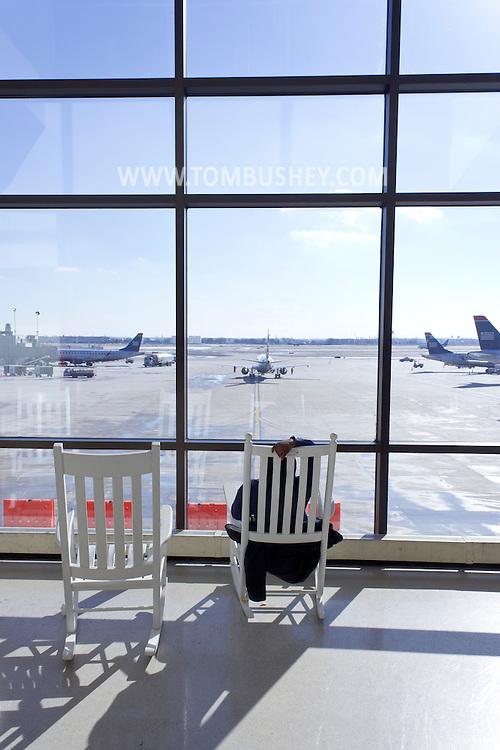Philadelphia, Pennsylvania, New York - at Philadelphia International Airport on Jan. 26, 2013.