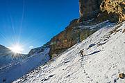 Matt Tuttle, Ostler Peak, Amethyst Basin, Uintas, Utah.