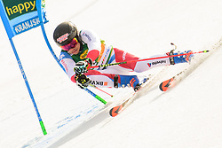 March 9, 2019 - Kranjska Gora, Kranjska Gora, Slovenia - Gino Caviezel of Switzerland in action during Audi FIS Ski World Cup Vitranc on March 8, 2019 in Kranjska Gora, Slovenia. (Credit Image: © Rok Rakun/Pacific Press via ZUMA Wire)