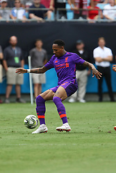 July 22, 2018 - Charlotte, NC, U.S. - CHARLOTTE, NC - JULY 22: Nathaniel Clyne (2) of Liverpool controls the ball during the International Champions Cup soccer match between Liverpool FC and Borussia Dortmund in Charlotte, N.C. on July 22, 2018. (Photo by John Byrum/Icon Sportswire) (Credit Image: © John Byrum/Icon SMI via ZUMA Press)
