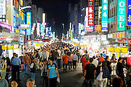 The Liuhe Night Market ???? in Kaohsiung, Taiwan.