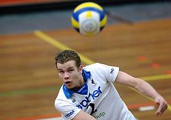 01-02-2006 VOLLEYBAL: PIET ZOOMERS D - BROTHER MARTINUS: APELDOORN <br /> Piet Zoomers wint met 3-0 van Martinus in de kwartfinale beker / Frank Vlot<br /> ©2006-WWW.FOTOHOOGENDOORN.NL