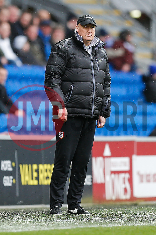 Cardiff City Manager Russell Slade - Photo mandatory by-line: Rogan Thomson/JMP - 07966 386802 - 28/02/2015 - SPORT - FOOTBALL - Cardiff, Wales - Cardiff City Stadium - Cardiff City v Wolverhampton Wanderers - Sky Bet Championship.