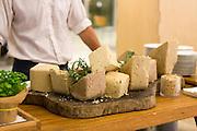 Blocks of Halvah of various flavours