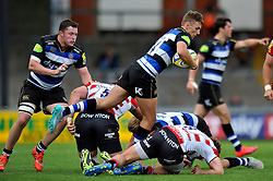 Darren Atkins of Bath Rugby - Mandatory byline: Patrick Khachfe/JMP - 07966 386802 - 13/09/2015 - RUGBY UNION - Memorial Stadium - Bristol, England - Gloucester Rugby v Bath Rugby - West Country Challenge Cup.