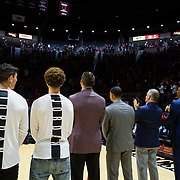 06 November 2018: The Aztecs opened up it's regular season schedule with a win/loss against Arkansas Pine-Bluff Tuesday night at Viejas Arena.