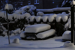 Heavy snow overnight will have a massive effect on people waking up this morning across central Scotland.