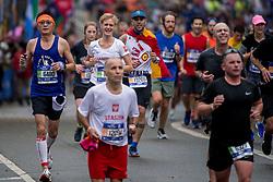05-11-2017 USA: NYC Marathon We Run 2 Change Diabetes day 3, New York<br /> De dag van de marathon, 42 km en 195 meter door de straten van Staten Island, Brooklyn, Queens, The Bronx en Manhattan / Janinka
