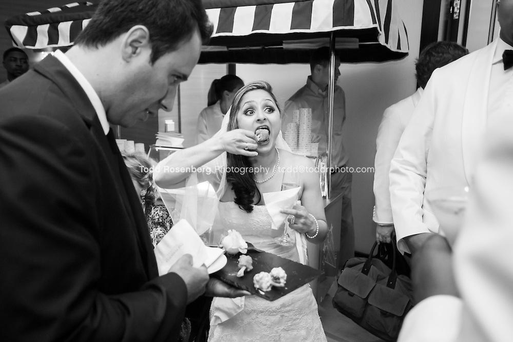 5/21/13 11:27:02 AM .The wedding of April and Sakou on Windy City Live... . © Todd Rosenberg Photography 2013