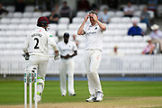 Rikki Clarke of Warwickshire bowling during the Specsavers County Champ Div 1 match between Somerset County Cricket Club and Warwickshire County Cricket Club at the Cooper Associates County Ground, Taunton, United Kingdom on 22 May 2017. Photo by Graham Hunt.