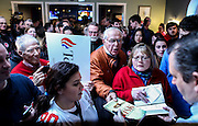 Supporters flock to Republican presidential candidate, Sen. Ted Cruz, R-Texas, at a meet and greet at Theo's Pizza and Restaurant in Manchester, N.H. Thursday, Jan. 21, 2016.  CREDIT: Cheryl Senter for The New York Times Ted Cruz