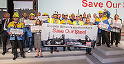 Save Our Steel. TUC congress 2016, Brighton. UK.