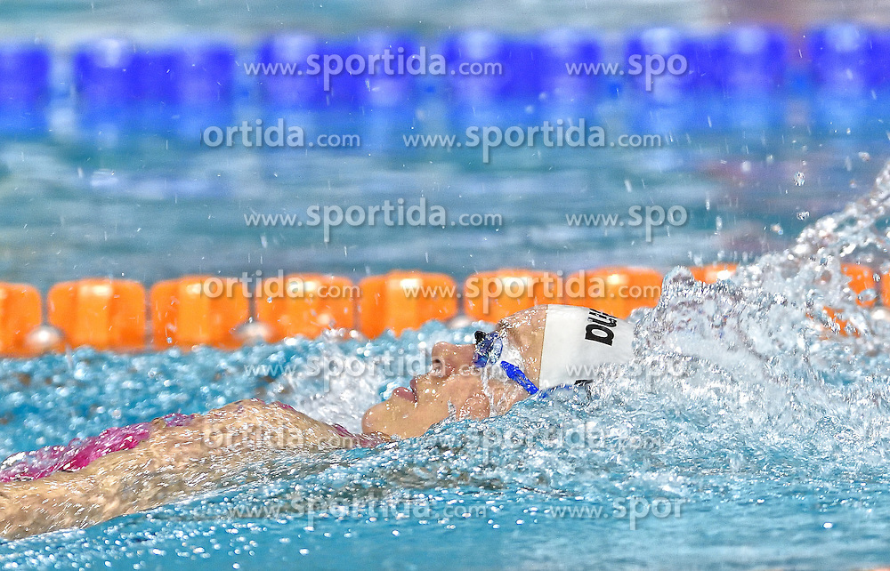 02-04-2015 NED: Swim Cup, Eindhoven<br /> Jenny Mensing GER, 200m rug<br /> Photo by Ronald Hoogendoorn / Sportida
