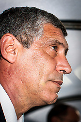 31.05.2012, Kufstein Arena, Kufstein, AUT, UEFA EURO 2012, Testspiel, Armenien vs Griechenland, im Bild Fernando Santos, (GRE, Trainer) // Fernando Santos, (GRE, Trainer) during Preparation Game for the UEFA Euro 2012 betweeen Armenia and Greece at the at the Kufstein Arena, Kufstein, Austria on 2012/05/31. EXPA Pictures © 2012, PhotoCredit: EXPA/ Juergen Feichter