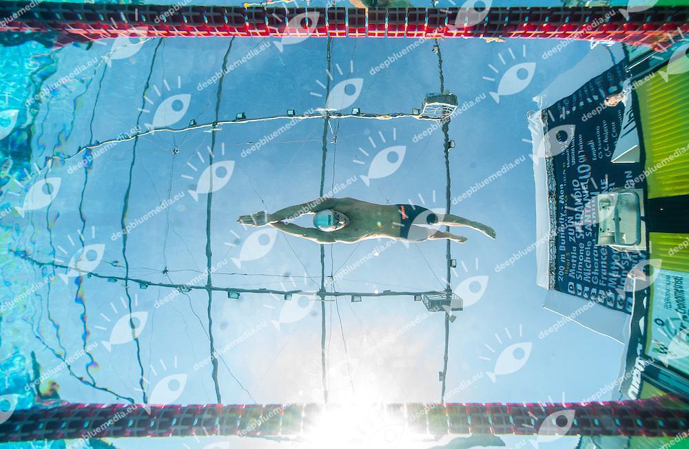 PAVONE Francesco, Italy - Esercito<br /> 200 Butterfly Men<br /> 50 Settecolli Trofeo Internazionale di nuoto 2013<br /> swimming<br /> Roma, Foro Italico  12 - 15/06/2013<br /> Day02 heats batterie<br /> Photo Diego Montano/Deepbluemedia/Insidefoto