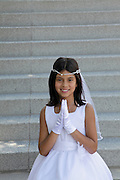 Sarita and family first communion photographs