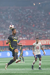August 1, 2018 - Atlanta, Georgia, United States - Juventus midfielder SAMI KHEDIRA, 6 heads the ball infant of goal during the 2018 MLS All-Star Game at Mercedes-Benz Stadium in Atlanta, Georgia.  Juventus F.C. defeats  MLS All-Stars defeat  1 to 1  (Credit Image: © Mark Smith via ZUMA Wire)