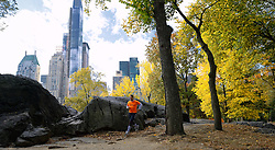 02-11-2013 ALGEMEEN: BVDGF NY MARATHON: NEW YORK <br /> Parcours verkenning en laatste training in het Central Park / Freerk<br /> ©2013-FotoHoogendoorn.nl