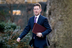 © Licensed to London News Pictures. 30/01/2018. London, UK. Attorney General Jeremy Wright QC arriving in Downing Street to attend a Cabinet meeting this morning. Photo credit : Tom Nicholson/LNP