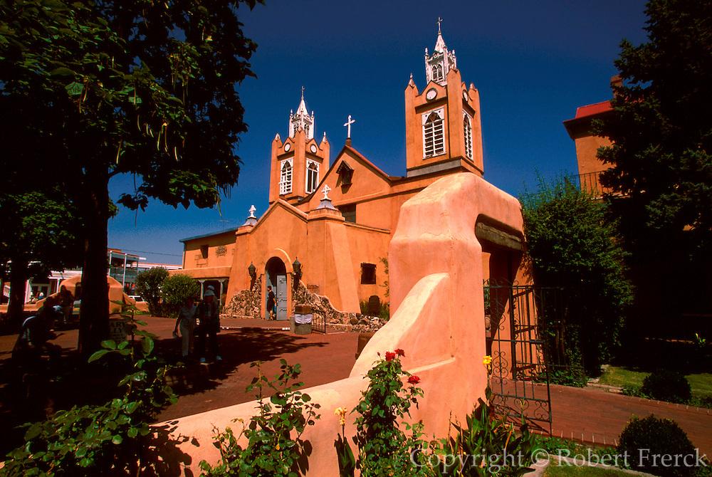 NEW MEXICO, ALBUQUERQUE San Felipe de Neri Church, 1706