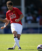 Photo: Paul Thomas.<br /> Peterborough United v Manchester United. Pre Season Friendly. 04/08/2007.<br /> <br /> New Utd signing Owen Hargreaves.