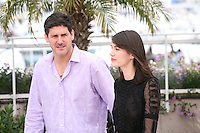 actor Adolfo Jiménez Castro, actress Nathalia Acevedo,  at the Post Tenebras Lux film photocall at the 65th Cannes Film Festival France. Thursday 24th May 2012 in Cannes Film Festival, France.