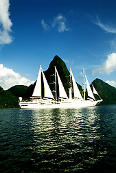 Cruising: Wind Sprit, St. Lucia, Caribbean,  Photo: cruwin103.Photo copyright Lee Foster, 510/549-2202,  lee@fostertravel.com, www.fostertravel.com