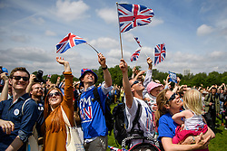 © Licensed to London News Pictures. 19/06/2016. London, UK. Campaigners take part in 'The Big In' event at Hyde Park in London to promote an in vote at this week's EU membership referendum. Photo credit: Ben Cawthra/LNP