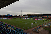 New laid turf at Carlisle Uniteds Brunton Park after the recent floods during the Sky Bet League 2 match between Carlisle United and York City at Brunton Park, Carlisle, England on 23 January 2016. Photo by Craig McAllister.