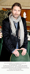 Actor NICK BERRY at a reception in London on 4th February 2003.PGX 26