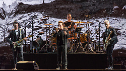 June 4, 2017 - Chicago, Illinois, U.S - THE EDGE, BONO, LARRY MULLEN JR. and ADAM CLAYTON of U2 during 30th Anniversary of the The Joshua Tree Tour at Soldier Field in Chicago, Illinois (Credit Image: © Daniel DeSlover via ZUMA Wire)