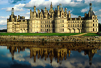 Chateau de Chambord, near Blois, Loire Valley, France