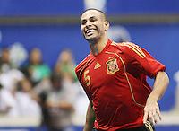 Fussball  International  FIFA  FUTSAL WM 2008   09.10.2008 Vorrunde Gruppe D Spain - Uruguay Spanien - Uruguay FERNANDO (ESP) freut sich ueber sein Tor.