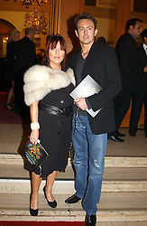 Actress JESSE WALLACE and DAVE MORGAN at the return of Dralion to celebrate the Cirque Du Soleil's 20th Anniversary at the Royal Albert Hall, London on 6th January 2005.<br /><br />NON EXCLUSIVE - WORLD RIGHTS