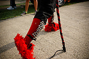 VII Festival de diablos y congos del 2011. Festival que se celebra cada 2 años, en el fuerte del historico pueblo de Portobelo en la provincia de Colón, un festival lleno de cultura, y mucho color..
