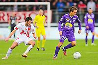 Benoit PEDRETTI  - 20.12.2014 - Brest / Ajaccio - 18eme journee de Ligue 2 -<br /> Photo : Vincent Michel / Icon Sport