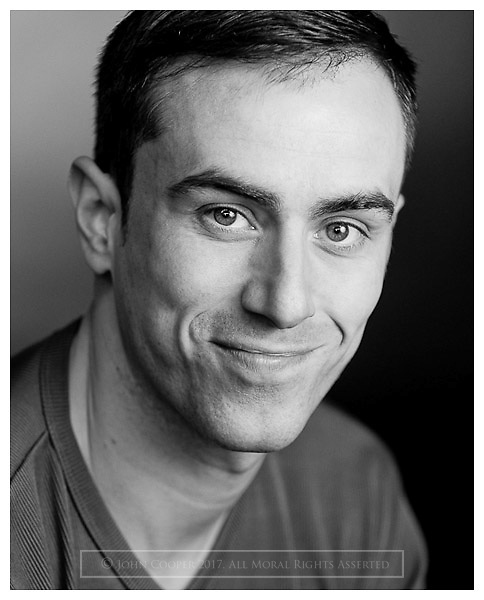 Headshot of actor Derek McGhie.