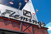 Flemming's, LA LIVE, Los Angeles, CA, Architectural, Calif. California, CA, City Center, Downtown, architecture, los angeles