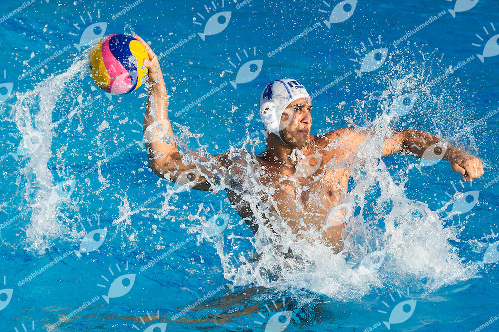 4 FIGLIOLI Pietro Italy ITA<br /> Italy ITA - Germany GER<br /> 15 FINA World Aquatics Championships<br /> Day-05 Waterpolo Men<br /> Barcelona 19 July - 4 August 2013<br /> Photo G.Barbagelata/Insidefoto/Deepbluemedia.eu