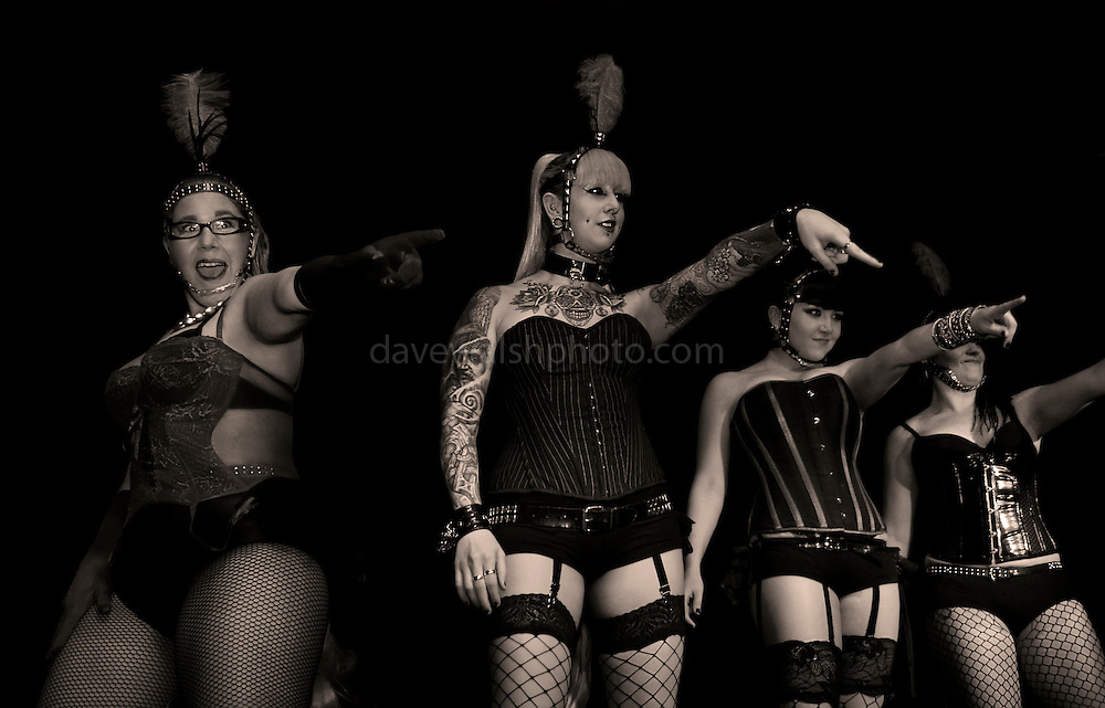 The Pony Girls, performing at Gush,  at the Voodoo Lounge, Dublin..