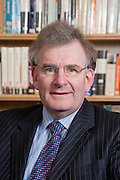 Dr Nigel Richardson, Governor, Magdalen College School 2010, Photographed in the school library.