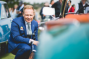 August 22-26, 2018. Monterey Car Week. Mitja Borkert, Lamborghini head of design.
